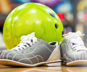 Photo - Bowling Ball with Shoes