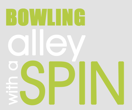 Bowling Alley with a Spin Graphic
