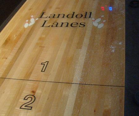 Landoll Lanes Shuffleboard